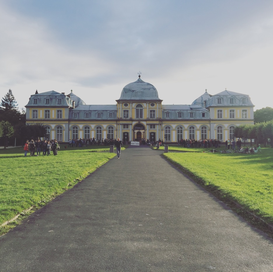 Poppelsdorf Palace, the park surrounding it had a load on university students which had a cool vibe