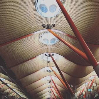 Madrid Airport roof