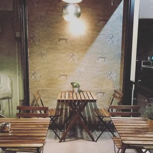My kind of decor at El Escondite de Villanueva restaurant